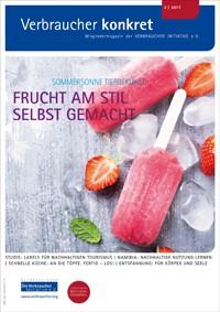 Vom Einfrieren und Eis machen Sommersonne tiefgekühlt  (Download), 2 Seiten, aus Magazin 02/2017