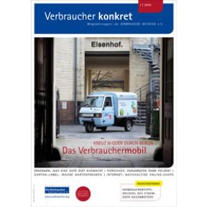Besser Einkaufen - Nachhaltige Online-Shops  (Download), 2 Seiten, aus Magazin 01/2016
