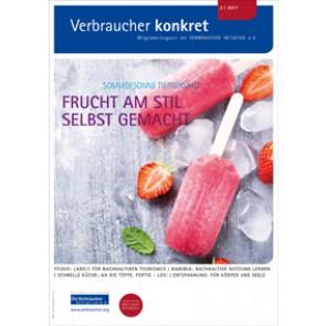 Online: Lebensmittel und Rezepte (Download), 2 Seiten, aus Magazin 02/2017