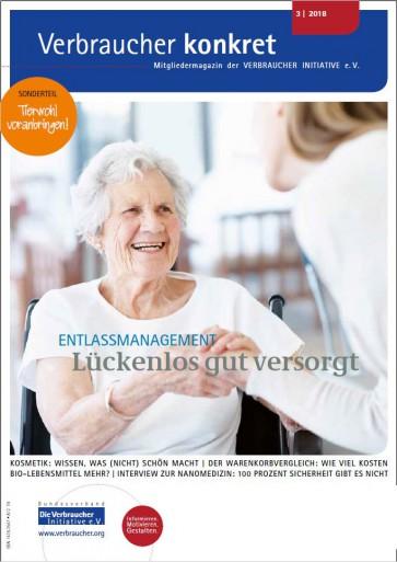 Informierter Internet-User / Seriöse Gesundheitsadressen (Download), 4 Seiten, aus Magazin 03/2018