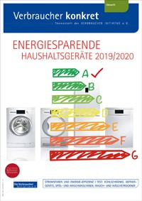 Energiesparende Haushaltsgeräte 2019/2020 (Themenheft)
