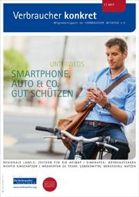 Smartphone, Auto und Co. gut schützen  (Download), 4 Seiten, aus Magazin 01/2017
