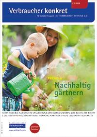 Nachhaltig gärtnern (Download), 4 Seiten, aus Magazin 02/2020