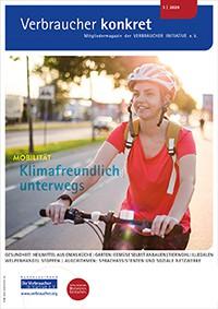Klimafreundlich unterwegs (Download), 2 Seiten, aus Magazin 03/2020
