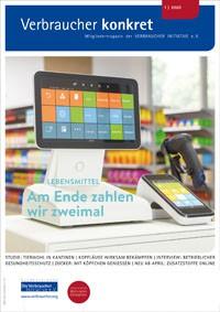 Studie zu Tierwohl in Kantinen (Download), 3 Seiten, aus Magazin 01/2020