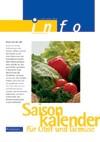 Saisonkalender für Obst und Gemüse (Themenheft)