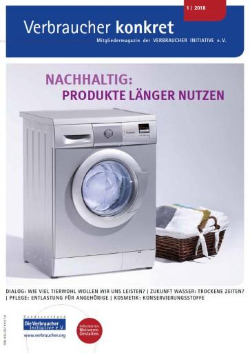 Produkte länger nutzen (Download), 4 Seiten, aus Magazin 01/2018