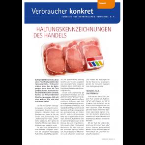 Faltblatt: Haltungs-Kennzeichnungen des Handels