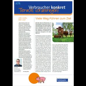 Faltblatt: Tierwohl voranbringen