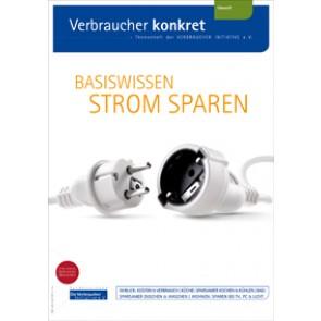 Basiswissen Strom sparen (Print, zzgl. Versand)