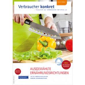 Ausgewählte Ernährungsrichtungen (Themenheft)