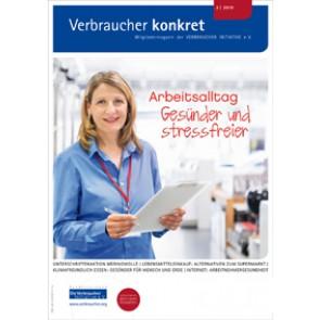 """Kongress zeigt Wege zur """"guten Arbeit"""" (Download), 6 Seiten, aus Magazin 02/2019"""